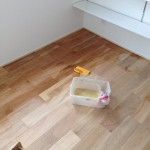 床・米ぬか塗料塗装DIY:船橋の家