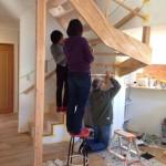 木部塗装DIY:鶴見の家